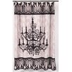 Carnation Home Fashions Luminere Polyester Shower Curtain