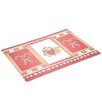 <strong>Christmas Bear Expanded Foam Vinyl Placemat (Set of 4)</strong> by Carnation Home Fashions