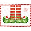 <strong>Carnation Home Fashions</strong> Elf Shoes Expanded Placemat (Set of 4)