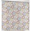 """Carnation Home Fashions """"Jasmine"""" Peva Shower Curtain"""