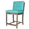 David Francis Furniture Manhattan Counter Height Bar Stool with Cushions