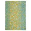 <strong>Leopard Aqua Striped Rug</strong> by Company C