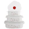 <strong>Reston Lloyd</strong> Corelle Coordinates Splendor 6 Piece Microwave Cookware and Storage Set