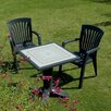 <strong>Giove 3 Piece Square Dining Set</strong> by Nardi