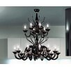 Leucos Belzebu 18 Light Chandelier