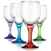 <strong>Home Essentials and Beyond</strong> Carnival White Wine Glass (Set of 4)