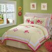 My World Golden Trail Twin Quilt with Pillow Sham