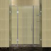 <strong>Aston</strong> Completely Frameless Hinged Shower Door with Glass Shelves