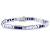 <strong>Amour</strong> Gemstone Tennis Bracelet