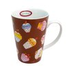 Zrike 15 oz. Cupcake Mug (Set of 4)