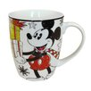 Zrike Disney 16 oz. Mickey Jumbo Christmas Magic Mug (Set of 4)