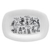 Zrike Disney Sketchbook Rectangular Platter