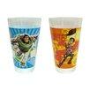 Zrike Disney 2 Piece 16 oz. Toy Story Glass Tumbler Set