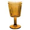 Zrike Opulence Pressed Goblet Glass