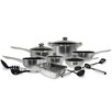 <strong>Cook Pro</strong> 17 Piece Stainless Steel Belly Shape Cookware set