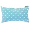 Majestic Home Products Small Polka Dot Lumbar Pillow