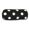 Majestic Home Products Polka Dot Round Bolster Pillow