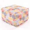 Majestic Home Products Blooms Large Ottoman