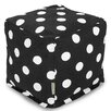 Majestic Home Products Polka Dot Small Cube