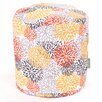 Majestic Home Products Blooms Small Pouf