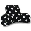 Majestic Home Products Polka Dot Reading Pillow