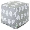 Majestic Home Products Ellie Small Cube Ottoman