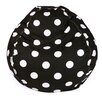 Majestic Home Products Polka Dot Bean Bag Chair