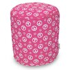 Majestic Home Products Peace Small Pouf
