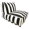 Majestic Home Products Stripe Bean Bag Lounger