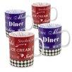 Konitz 15 oz. American Diner Mug (Set of 4)