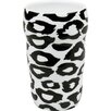 Konitz 11 oz. Leopard Double Walled Grip Mug (Set of 2)