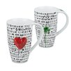 Konitz New Day New Luck and New Day New Love 13 oz. Mugs 4 Piece Set