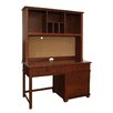 "Bolton Furniture Woodridge 53"" W Writing Desk with Hutch"