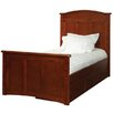 Bolton Furniture Woodridge Twin Panel Bed with 3 Drawer Under Bed Case