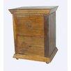 MOTI Furniture Reunion 2 Drawer Filing Cabinet