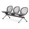 OFM Net Series Mesh Three Chair Beam Seating
