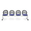 OFM Moon Four Chair Beam Seating