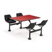 """OFM 24"""" x 48"""" Group/Cluster Table and Chairs with Laminate Tops"""