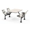"<strong>24"" x 48"" Group/Cluster Table and Chairs with Laminate Tops</strong> by OFM"