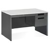 <strong>Mesa Series Single Pedestal Computer Desk with Center Drawer</strong> by OFM