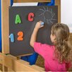 Playstar Inc. Magnetic 2' x 2' Chalkboard