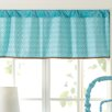 """Laugh, Giggle & Smile Spotty Owls 44"""" Window Curtain Valance"""