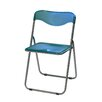 <strong>Translucent Folding Chair Sterling</strong> by Meco