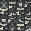 York Wallcoverings Birdcage Wallpaper