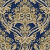 <strong>Saint Augustine Baroque Floral Damask Wallpaper</strong> by York Wallcoverings
