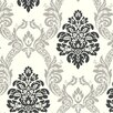 <strong>York Wallcoverings</strong> Ogee Damask Wallpaper