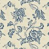 <strong>York Wallcoverings</strong> French Dressing Jacobean Floral Wallpaper