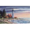 York Wallcoverings Portfolio II Northern Lighthouse Wall Mural