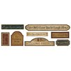 <strong>York Wallcoverings</strong> Mural Portfolio II Country Signs On Weathered Wood Wall Decal