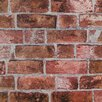 <strong>York Wallcoverings</strong> Modern Rustic Brick Trompe L'oiel Wallpaper